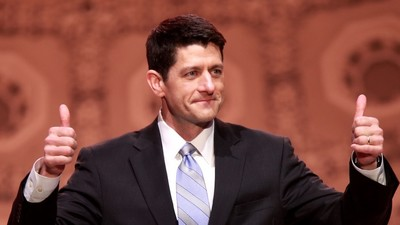 Paul Ryan Says He'll Run for House Speaker, But Only If the Entire GOP Votes for Him