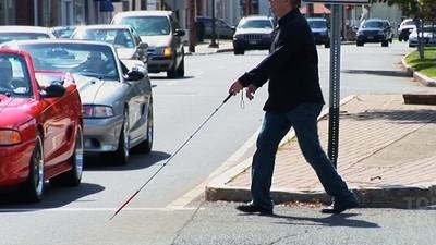 Behinderung oder Täuschung: Menschen, die so tun, als seien sie blind