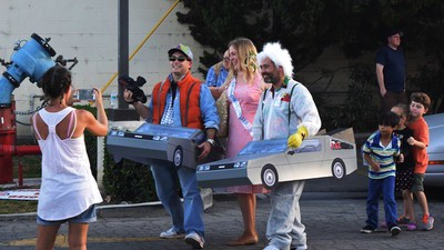 I Watched Diehard Fans Celebrate Back to the Future Day Where the Movie Was Filmed