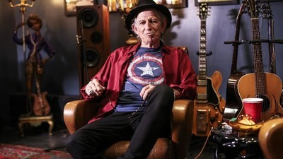 Guitar Moves with Keith Richards: 'The Acoustic Guitar Is the Most Important'