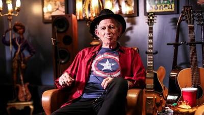 """Guitar Moves mit Keith Richards: """"Die Akustikgitarre ist die wichtigste"""""""