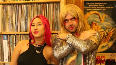 The 'Jem and the Holograms' Movie Party Was Full of People with Dyed Hair and Strong Looks
