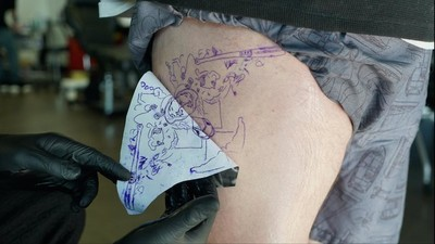 Meet the Guy Who Tattooed Jose Bautista's Famous Bat Flip