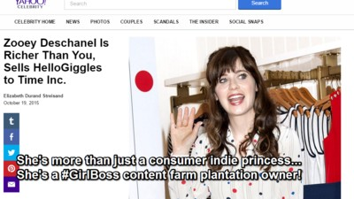 The Power of HelloGiggles, the $30 Million Posi Content Farm