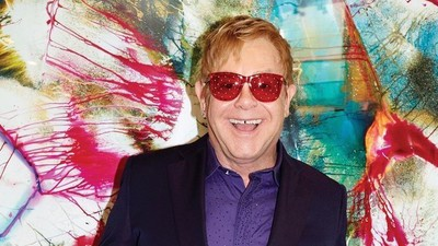 A Close Reading of the New Elton John Album Cover, Which Is Perfect in Every Way