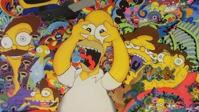 Me pasé dos días viendo Los Simpson hasta las cejas de LSD