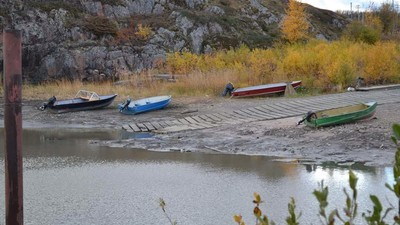 Mining Companies Keep Drawing Water from Canada's Athabasca River as It Runs Dry