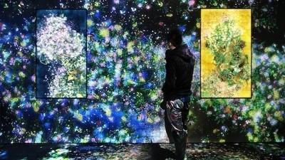 Wart ihr schon einmal in einem interaktiven, digitalen Blumengarten?