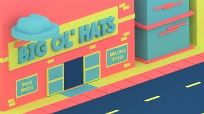 A Woman Tries on a Transformational Hat in This Week's Comic from Julian Glander