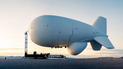 A Runaway $2.7 Billion Military Blimp Is Floating Aimlessly Over Pennsylvania