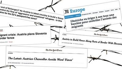 Für die internationale Presse ist Österreich der nächste potenzielle Asyl-Hardliner