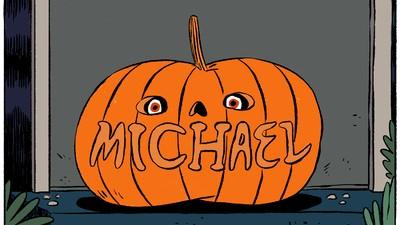 Michael jagt kleinen Kindern Angst ein