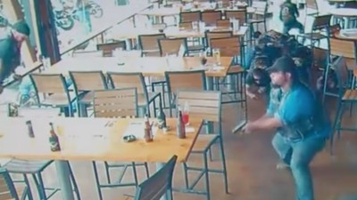 Here's the Surveillance Footage of That Massive Biker Shootout in Texas Last May