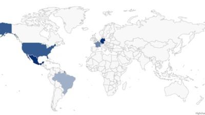 Diese genealogische Weltkarte zeigt dir, wo deine Namensvettern wohnen