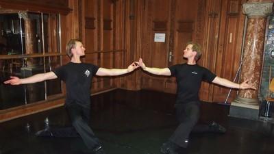 Kranker Scheiß aus dem Leben von männlichen Balletttänzern