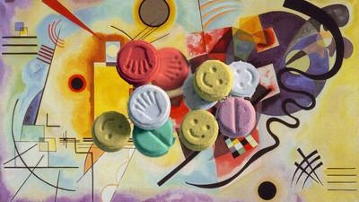 Me tomé una pastilla de éxtasis para ir a la expo de Kandinsky de Madrid