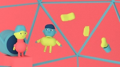 Two Men Get Tongue-Tied in This Week's Comic by Julian Glander