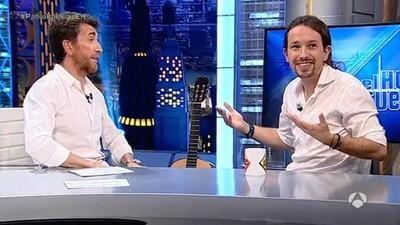 """Pablo Iglesias en """"El Hormiguero"""": del chorreo a la vergüenza ajena"""