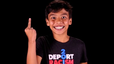 These Kids Are Ripping Donald Trump for Being a 'Racist Dick'
