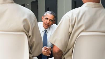 Die System-Reparatur: Präsident Obama zur Gefängnisreform in den USA
