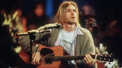 El mítico cárdigan de Kurt Cobain a subasta