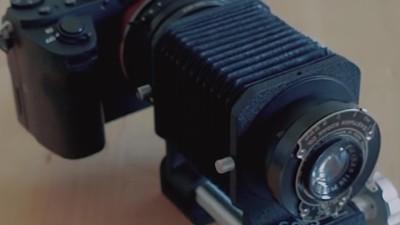 Esto es lo que pasa cuando montas un lente de 1910 en una cámara moderna
