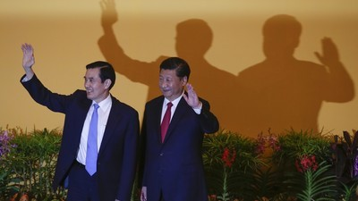 Talk Turns to Missiles After 'Historic Handshake' by Presidents of Taiwan and China