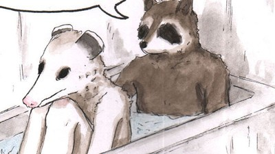 The Punk Animals Take a Bath Together in This Week's 'Habits' Comic