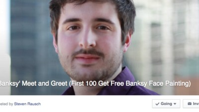 The Internet Thinks I'm Banksy