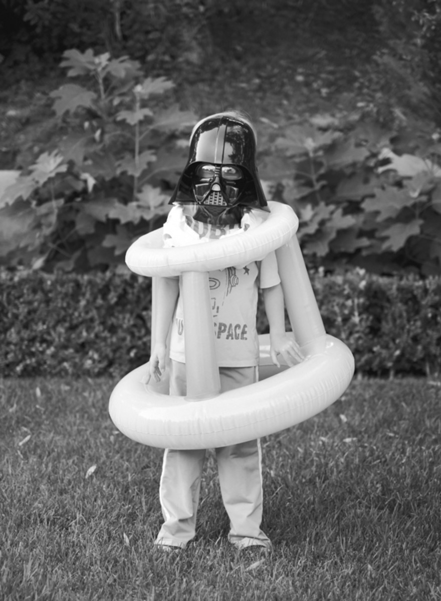Seznamte se s Charth Vaderem, mým synem se zrakovou poruchou