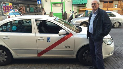 Un paseo con el taxista psicoanalista de Madrid
