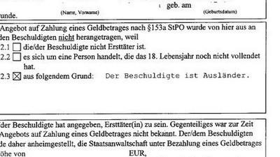 """""""Weil er Ausländer ist"""" – Ladendieb muss in Sachsen für 34,85 Euro vor Gericht"""
