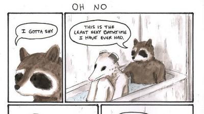 Ce se întâmplă când animalele fac baie împreună