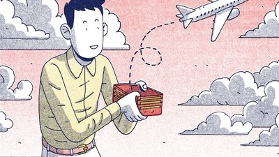 Um hacker de viagens explica-nos como dar a volta ao mundo grátis