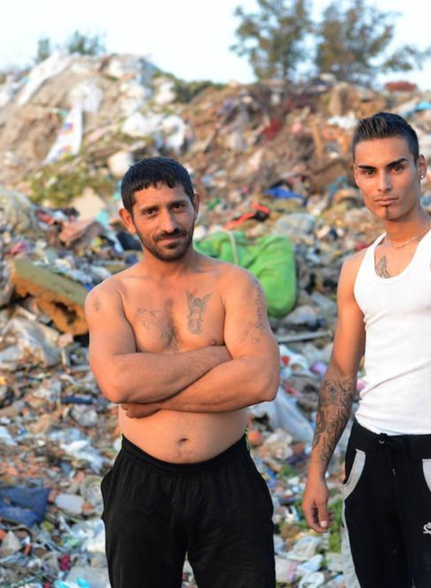 I tatuaggi dei campi rom di Belgrado