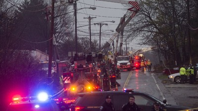 Nine Feared Dead After Private Jet Hits Residential Buildings in Ohio