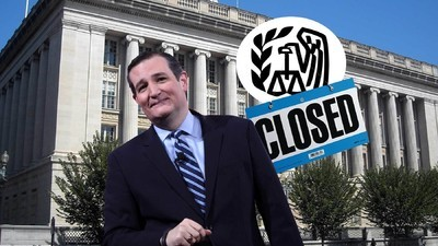 What Would Actually Happen if Ted Cruz Abolished the IRS?