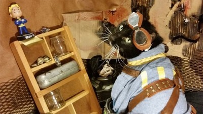 A Guy Is Selling His Pip-Boy Edition of 'Fallout 4' Because His Cat Couldn't Pee