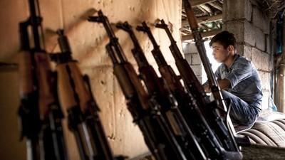 El bazar de armas donde los kurdos se abastecen contra Estado Islámico