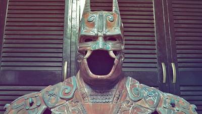 So hätte wohl ein antiker Batman im Maya-Style ausgesehen