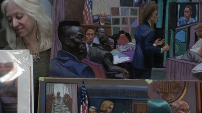 What It's Like Drawing Mobsters and Celebrity Defendants as a Courtroom Artist