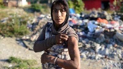 De Romagemeenschap in Servië gaat ten onder aan slechte heroïne