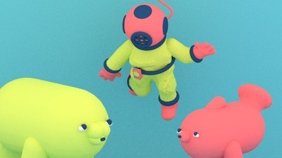 A Sea Explorer Gets Tricked in This Week's Comic by Julian Glander