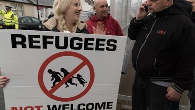 Scotland's Far Right Put on a Depressing Anti-Refugee Demonstration
