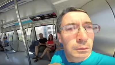 Ein Ire hat unabsichtlich das ultimative Selfie-Video gemacht