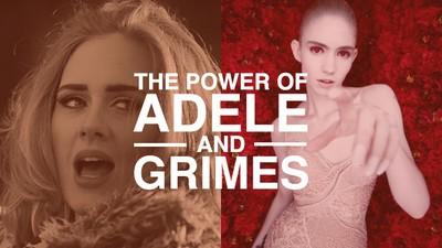 Adele und Grimes revolutionieren das Image des weiblichen Popstars