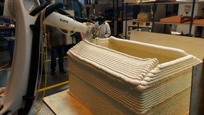 Des Nantais ont créé une imprimante 3D qui construit des maisons