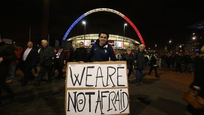 England vs France: A Comfortingly Routine Affair Against a Dark Backdrop