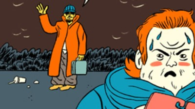 Michaels Feeds His Secret Addiction in This Week's Comic from Stephen Maurice Graham