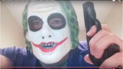 Montreal Police Make Arrest After Man in Joker Mask Threatened to Kill 'One Arab a Week'
